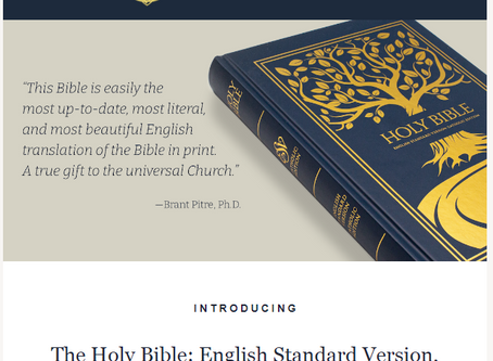Introducing a new translation: the English Standard Version-Catholic Edition!