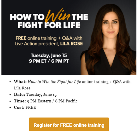 How to Win the Fight for Life!
