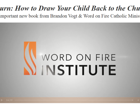 Return: How to Draw Your Child Back to the Church (video)