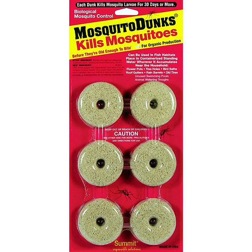 MosquitoDunks Kills Mosquito