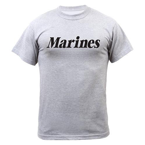 Marines PT tee