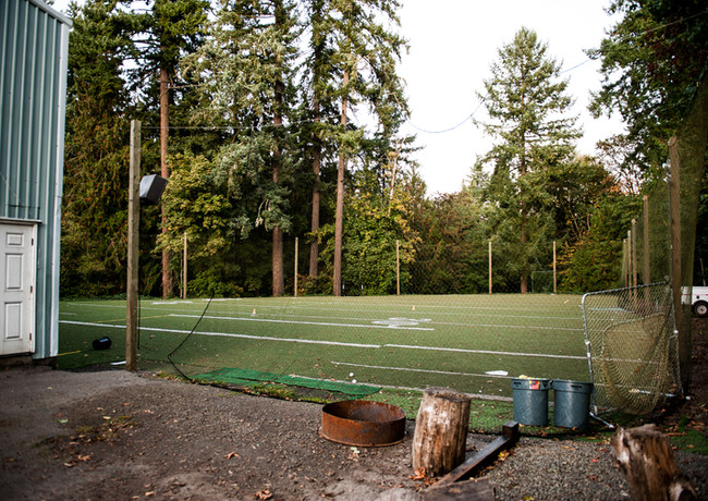 20,000 sq ft oudoor turf field