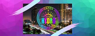 Hydro logo over Miami, FL