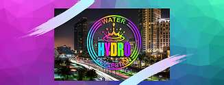 Hydro logo over Miami, FL