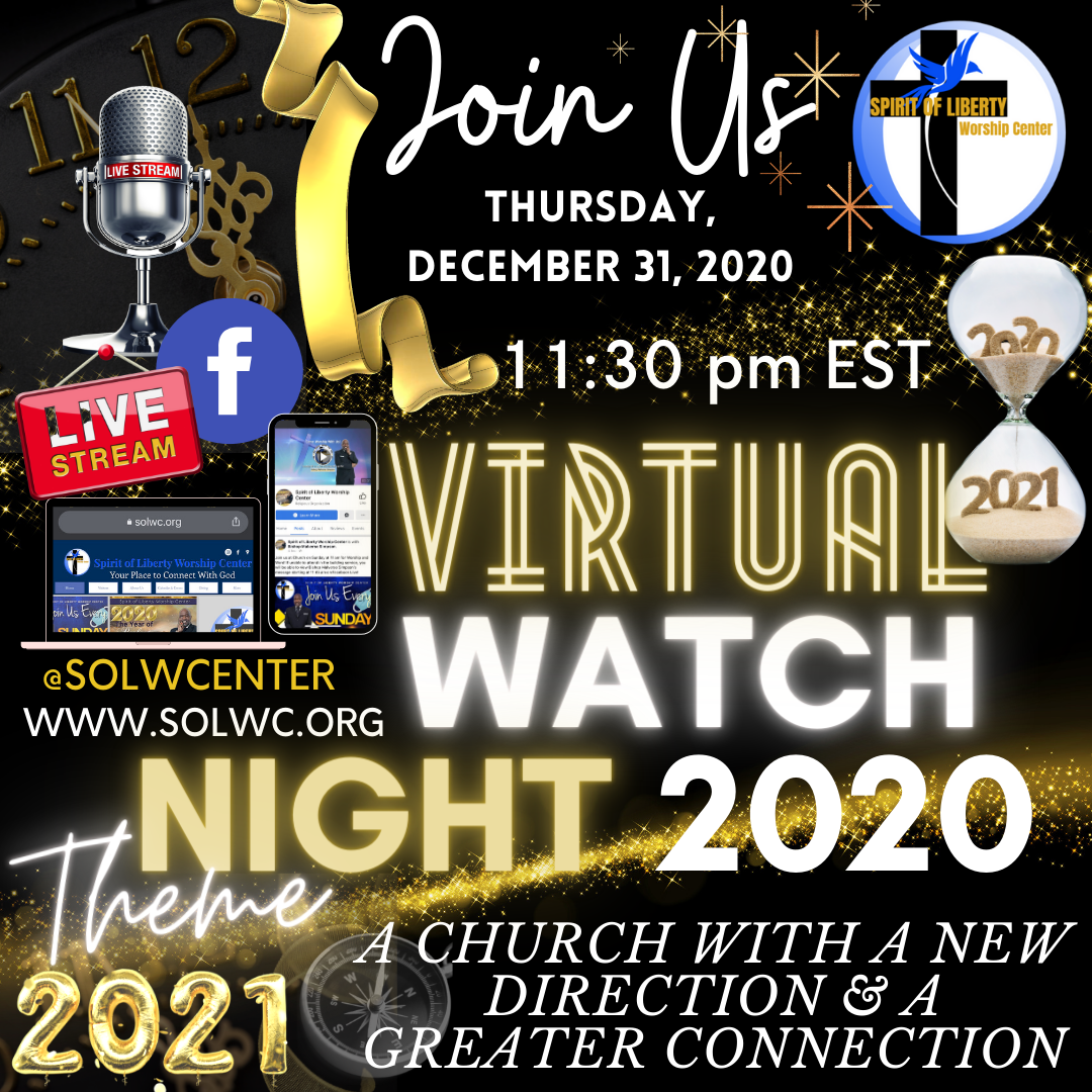 SOLWC virtual watch night 2020