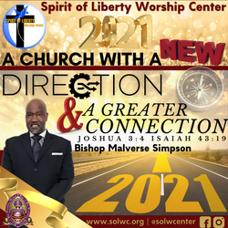 SOLWC church flyer for 2021 theme