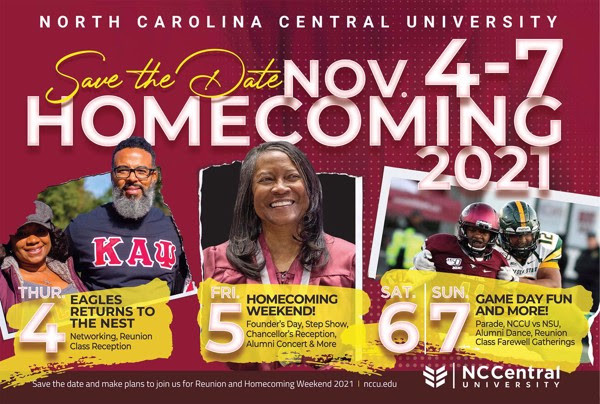 NCCU 2021 Homecoming