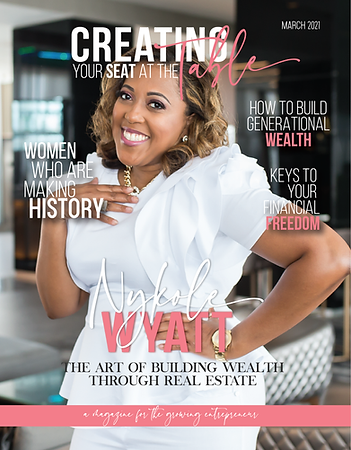 March 2021 Print Front Cover Nykole Wyat