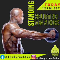 Guru-Standing Sculpting Abs Flyer IG 108