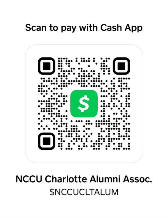 Cash App NCCU CLT ALUM