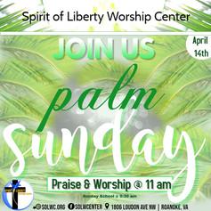 Palm Sunday Flyer