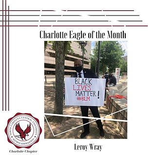 Charlotte Eagle of the Month_Leroy Wray.