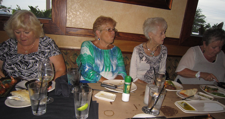 2014_06_02 -03-Mary Jane,Bobbi,Fran,Ginny -  Jeanne's 92nd BDay - Bonefish Grill,Cape Coral, FL.JPG