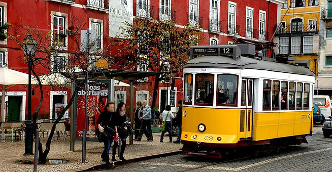 Portekiz anahtar Golden altın visa tanıtım tramvay tramway