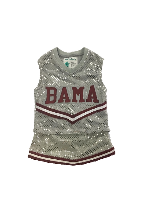 BAMA Sequin Cheer Outfit