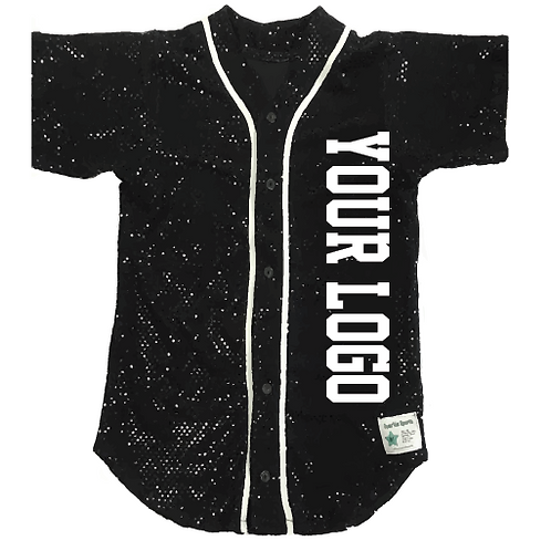Adult Sequin Custom Baseball Jersey (19 Colors Available)
