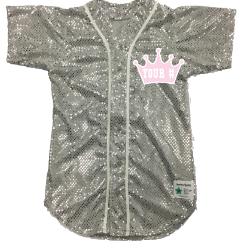 Personalized CROWN with Your # Baseball Jersey