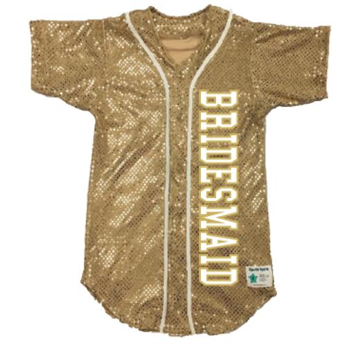 BRIDESMAID Baseball Jersey (19 Colors)