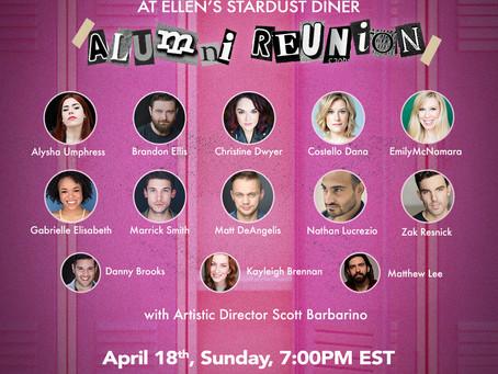"Ellen's Stardust Diner ""Stardusters"" Alumni Reunion Concert, Streams on Sunday, April 18th at 7pm ET"