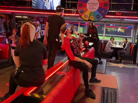 Les Miserables as only our Team at Ellen's Stardust Diner can deliver it!