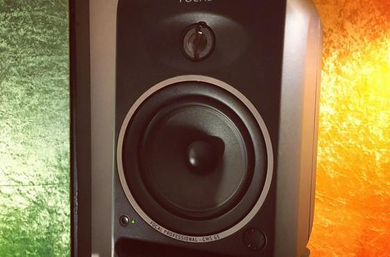 Focal CMS65 monitor speaker