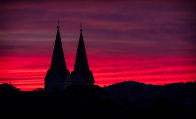 Igreja Matriz ao entardecer