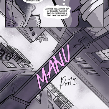 Manu: A Graphic Novel