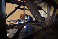 industrial contractors, industrial construction, fabrication shop, welder