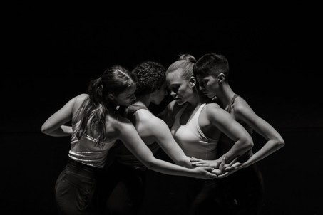 Emily Jerant-Hendrickson, Melissa Sherman-Bennett, Kelsey Berry, and Jessi Stegall  Photo by Half Asian Lens 2020