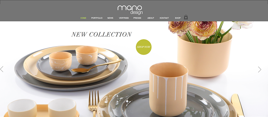 Website mano design
