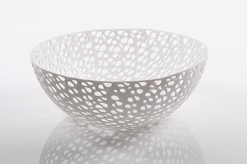 weiche Schale, Obstschale,flexible Schale, thermoplastisches Material, handgespritzt, manodesign Wien,