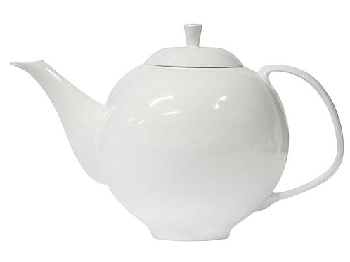 Teekanne, Bonechina Porzellan, weißes Porzellan, buntes Porzellan, Porzellanwerkstatt Wien,modernes Geschirr, manodesign