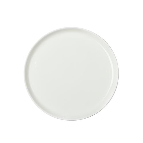 Desserteller in weiß, Brotteller, weißes Porzellan. Pastellporzellan