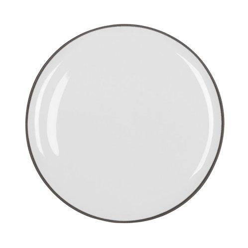 PLATZTELLER innen weiß