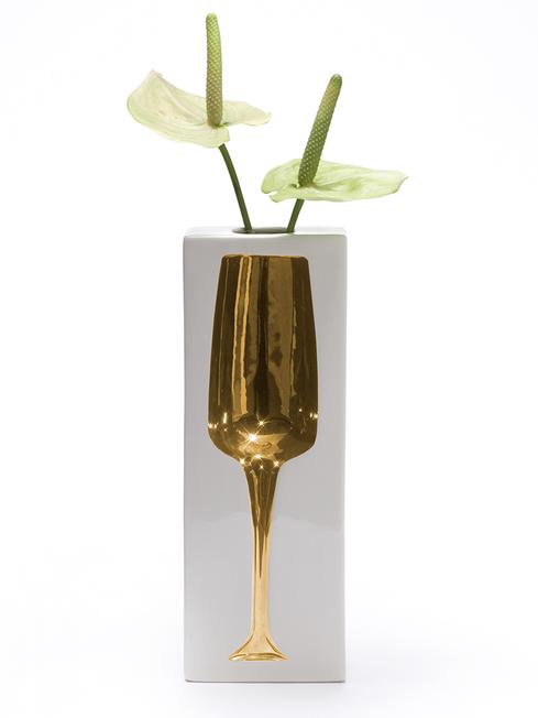 Sparkling - Vase gold