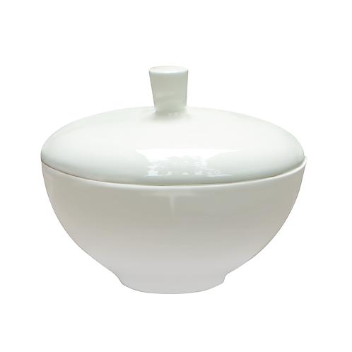 Zuckerdose, Bonechina Porzellan, weißes Porzellan, buntes Porzellan, Porzellanwerkstatt Wien,modernes Geschirr, manodesign