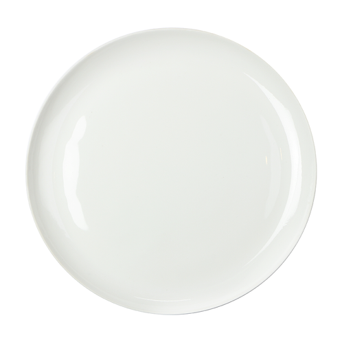 Platzteller, Bonechina Porzellan, weißes Porzellan, modernes Geschirr, Porzellanwerkstatt Wien, buntes Geschirr, manodesign