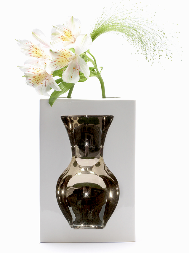 Vase platinum