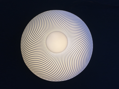 Wall and ceiling lamp