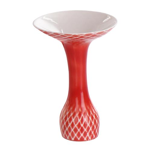 Kerzenständer aus Porzellan, Vase, weißes Porzellan, färbiges Porzellan, Porzellanwerkstatt Wien, Keramik in Wien, manodesign