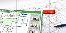 Plan évacuation CRIS Montauban