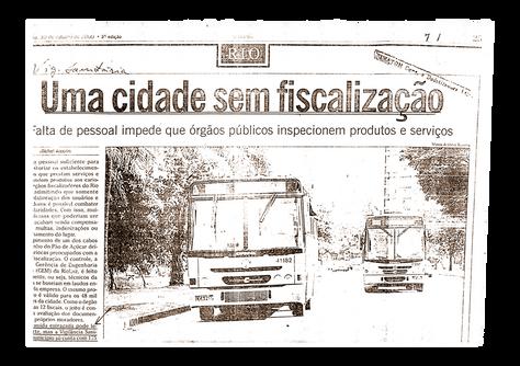 Reportagem O Globo - 2000