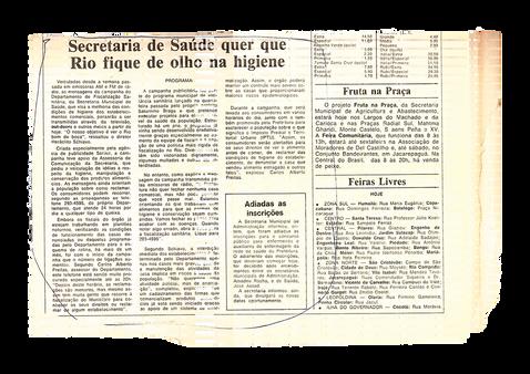 Reportagem - 1986