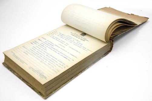 Livro de Registro