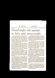 Reportagem O Globo - 1986