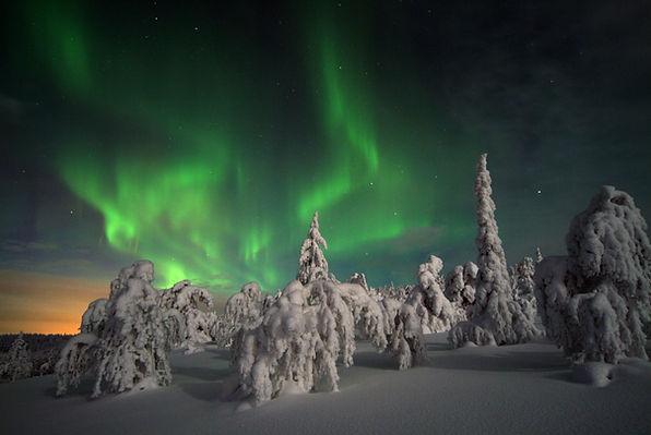 laponie finlandaise mars 2021 aurores boréales