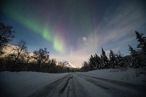 aurores boréales laponie finlandaise famille images doc bayard luosto