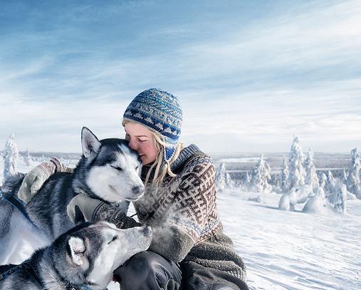 laponie finlandaise famille images doc bayard février luosto alma mundi