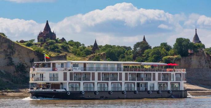 Irrawaddy explorer Bagan