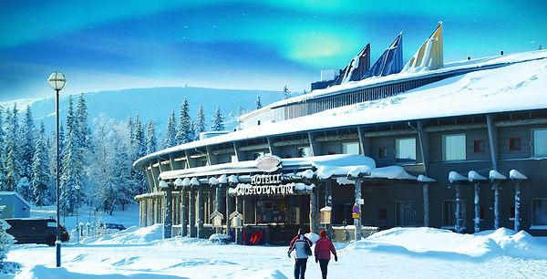 laponie finlandaise famille images doc bayard février club jet tours luosto